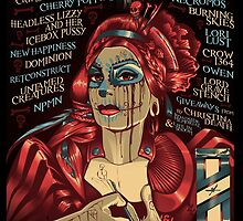 Poster for Skelebration | Skeletal Family et al | Kerri Langley by caseycastille