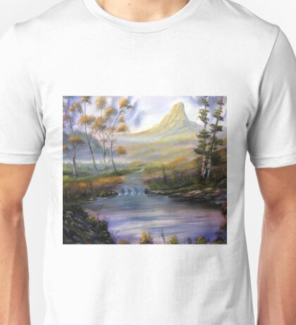 Stream in the valley Unisex T-Shirt