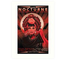 Poster for Nocturne | Anna May Wong Art Print