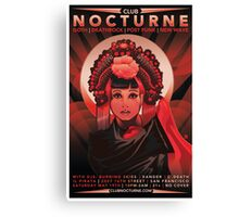 Poster for Nocturne | Anna May Wong Canvas Print
