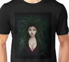 Fantasy Chinese Portrait Unisex T-Shirt