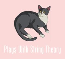 Plays With String Theory Kids Tee