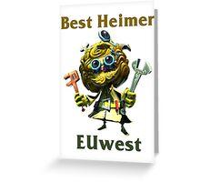 Best Heimerdinger EUwest Greeting Card