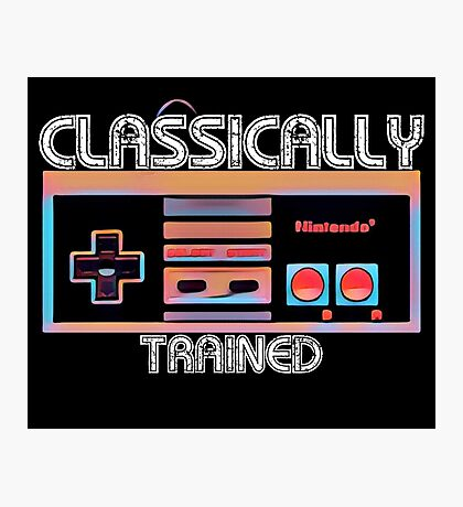 Classically Trained Photographic Print