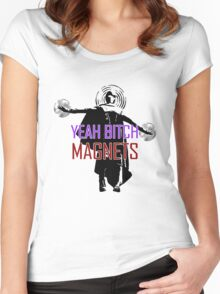 YEAH B****H MAGNETS Women's Fitted Scoop T-Shirt