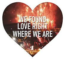 We Found Love Right WWA by urbanicole
