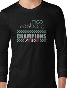 Nico Rosberg Champions f1 2016 Long Sleeve T-Shirt