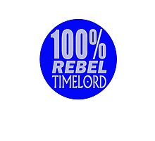 100% Rebel Timelord Photographic Print
