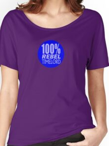 100% Rebel Timelord Women's Relaxed Fit T-Shirt