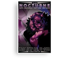 Poster for Nocturne | La Belle et Le Bete Canvas Print