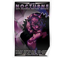 Poster for Nocturne | La Belle et Le Bete Poster