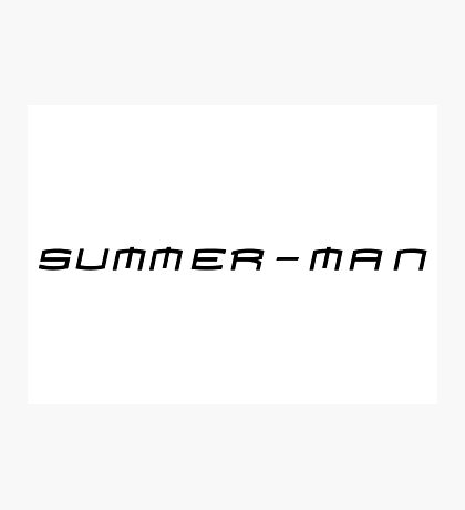 spider man funny summer t shirts Photographic Print