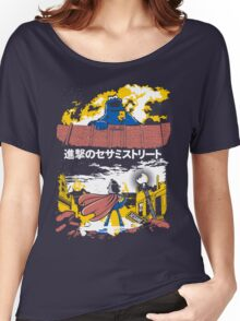 Attack on S. Street Women's Relaxed Fit T-Shirt