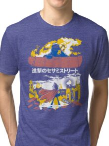 Attack on S. Street Tri-blend T-Shirt