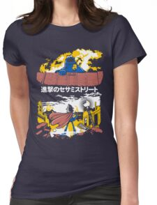 Attack on S. Street Womens Fitted T-Shirt