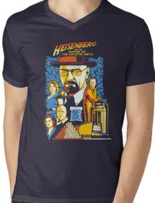 Heisenberg and the Empire of the Crystal Meth Mens V-Neck T-Shirt