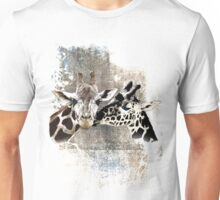 Snuggle Bug Giraffe Unisex T-Shirt