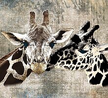 Snuggle Bug Giraffe by Carol Vega