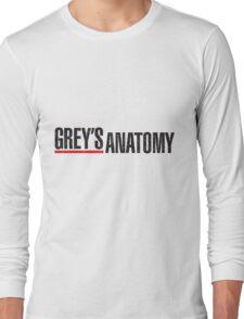 Grey`s Anatomy Long Sleeve T-Shirt