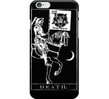 Death Tarot XIII iPhone Case/Skin