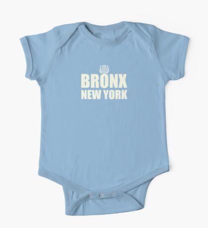 Bronx New York white One Piece - Short Sleeve
