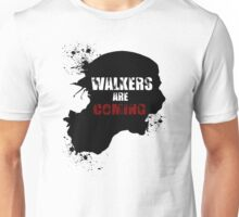 Walkers are coming - Red and White Edition Unisex T-Shirt
