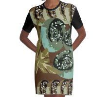 Heart of the Dragon fruit 5 Graphic T-Shirt Dress