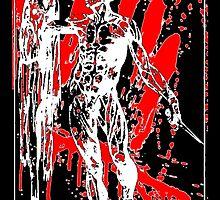 Anatomy Sticker by Imago-Mortis