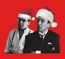 Merry Christmas - The Kray Twins One Piece - Long Sleeve