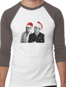 Merry Christmas - The Kray Twins Men's Baseball ¾ T-Shirt