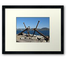 anchor...8000 visualizzaz. settember 2014  - FEATURED RB EXPLORE 28 FEBBRAIO 2012 ---- Framed Print