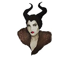 Maleficent Painting Photographic Print