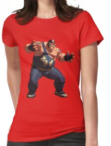 Big Bear Womens Fitted T-Shirt