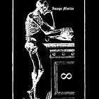 Magician Tarot I Sticker by Imago-Mortis