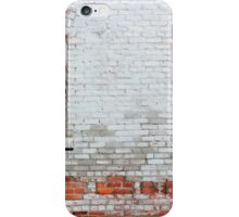 Worn Brick Wall 4 iPhone Case/Skin