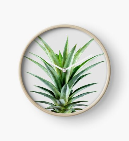 Pineapple V2 #redbubble #fashion #lifestyle #tech #home Clock
