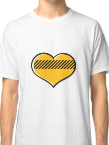 Yellow heart Classic T-Shirt