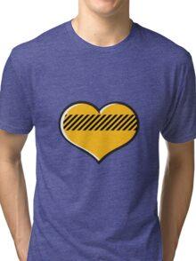 Yellow heart Tri-blend T-Shirt
