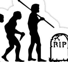 Zombie Evolution II Sticker