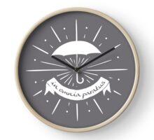 in omnia paratus Clock