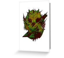 final fantasy color full  Greeting Card