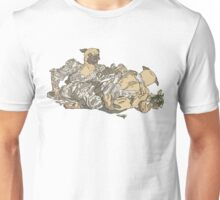 """Battle Bride"" Pugs Unisex T-Shirt"