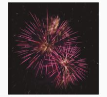 Two pink fireworks Kids Clothes