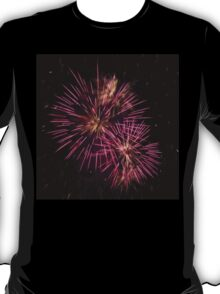 Two pink fireworks T-Shirt