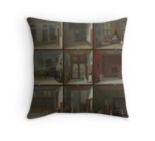 Dolls House of Petronella Oortman, 1710 Throw Pillow