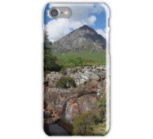 Buachaille Etive Mor 137, the Highlands , Scotland iPhone Case/Skin
