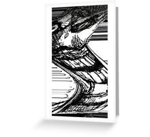 Sanity Is The Abstract  Greeting Card
