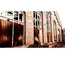 Cologne, old Railroad Buildings Photographic Print