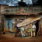 Uganda: The Butcher Shop by Ted Byrne