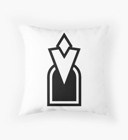 Skyrim Quest Marker Throw Pillow